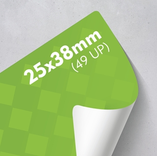 Picture of Labels 25 x 38mm - 49 UP