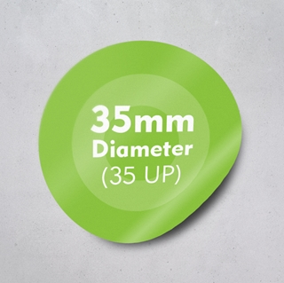 Picture of Labels 35mm dia - 35 UP