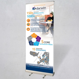 Picture of 850mm Double Sided Roller Banners